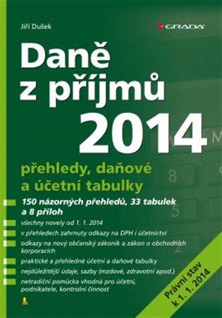 Daně z příjmů 2014 - Jiří Dušek   Booksquad.ink