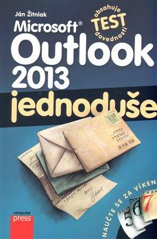 Obálka titulu Microsoft Outlook 2013: Jednoduše