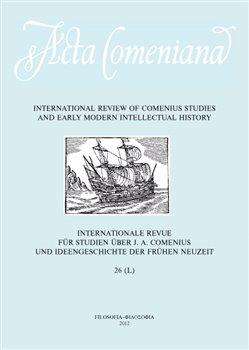 Obálka titulu Acta Comeniana 26