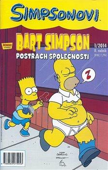 Obálka titulu Bart Simpson 1/2014: Postrach společnosti