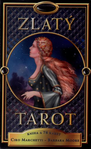 Zlatý tarot:kniha a 78 karet - Ciro Marchetti,   Booksquad.ink