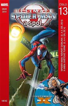 Obálka titulu Ultimate Spider-Man a spol. 13