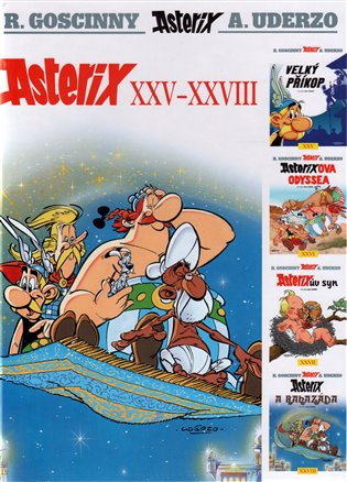 Asterix XXV – XXVIII - René Goscinny, | Replicamaglie.com