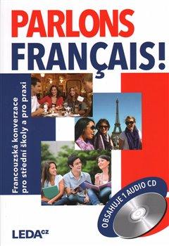 Obálka titulu Parlons francais + CD