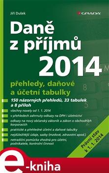 Obálka titulu Daně z příjmů 2014
