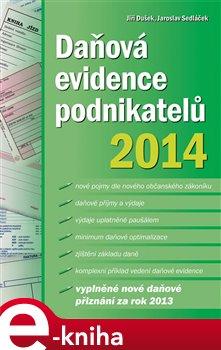 Obálka titulu Daňová evidence podnikatelů 2014