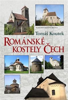 Obálka titulu Románské kostely Čech