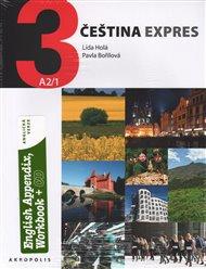 Čeština expres 3 A2/1 - anglicky + CD