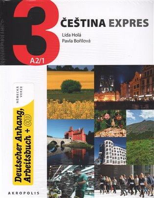 Čeština expres 3 (A2/1) - německy + CD - Lída Holá, | Replicamaglie.com