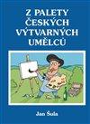 Obálka knihy Z palety českých výtvarných umělců
