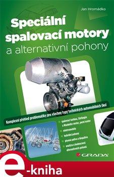Obálka titulu Speciální spalovací motory a alternativní pohony