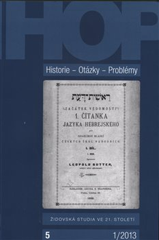 Obálka titulu Historie – Otázky - Problémy 1/2013