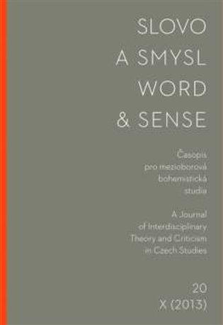 Slovo a smysl 20 / Word & Sense 20 - -   Booksquad.ink