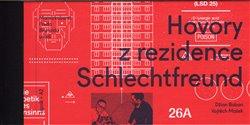 Obálka titulu Hovory z rezidence Schlechtfreund