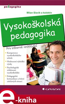 Obálka titulu Vysokoškolská pedagogika