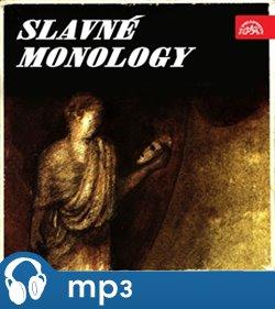 Obálka titulu Slavné monology