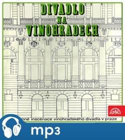 Obálka titulu Divadlo na Vinohradech