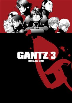 Obálka titulu Gantz 3
