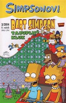 Obálka titulu Bart Simpson 7 3/2014: Tajuplný kluk