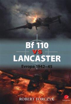 Obálka titulu Bf 110 vs Lancaster