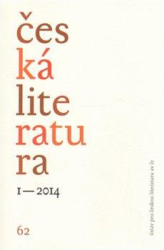 Obálka titulu Česká literatura 1/2014