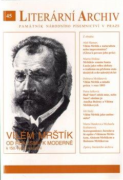 Obálka titulu Vilém Mrštík – od realismu k moderně (k 150. výročí narození)