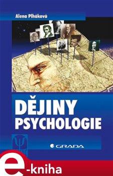 Obálka titulu Dějiny psychologie