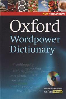 Obálka titulu Oxford Wordpower Dictionary 4th Edition + CD-ROM