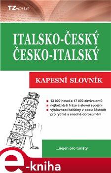 Italsko-český/ Česko-italský kapesní slovník e-kniha