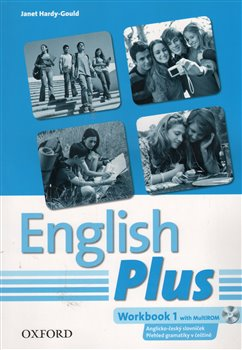 Obálka titulu English Plus 1 Workbook with MultiROM (Czech Edition)