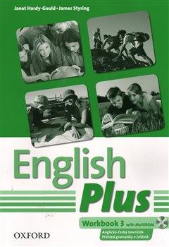 Obálka titulu English Plus 3 Workbook with MultiROM (Czech Edition)