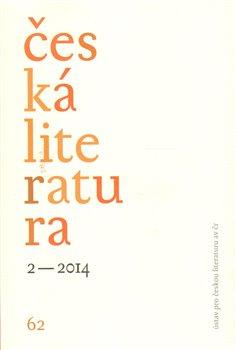 Obálka titulu Česká literatura 2/2014