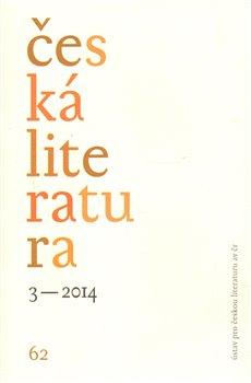 Obálka titulu Česká literatura 3/2014