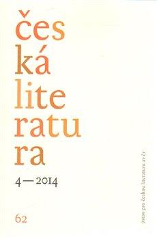 Obálka titulu Česká literatura 4/2014