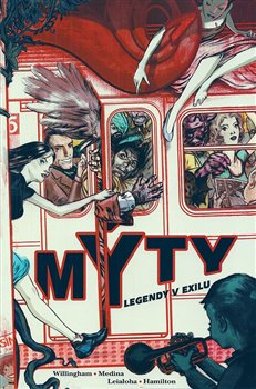 Obálka titulu Mýty 1: Legendy v exilu