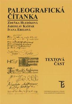Obálka titulu Paleografická čítanka