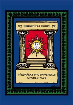 Obálka titulu Přednášky pro Universalii a Horev-klub