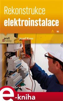 Obálka titulu Rekonstrukce elektroinstalace
