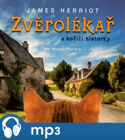 Obálka titulu Zvěrolékař a kočičí historky