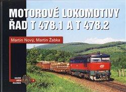 Obálka titulu Motorové lokomotivy řad T 478.1 a T 478.2
