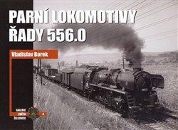 Obálka titulu Parní lokomotivy řady 556.0