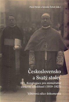 Obálka titulu Československo a Svatý stolec. II/1
