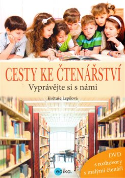 Obálka titulu Cesty ke čtenářství + DVD