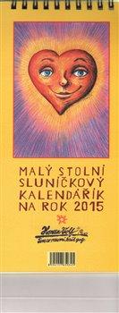Malý stolní sluníčkový kalendářík na rok 2015 - Honza Volf