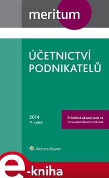 Obálka titulu Účetnictví podnikatelů 2014
