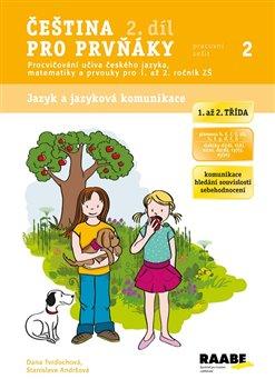 Obálka titulu Čeština pro prvňáky 2