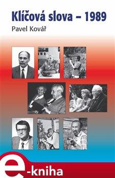 Obálka titulu Klíčová slova – 1989