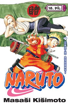 Obálka titulu Naruto 18: Cunadino rozhodnutí