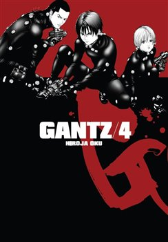Obálka titulu Gantz 4