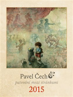 Obálka titulu Pavel Čech kalendář 2015